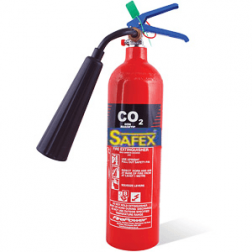 Safex Wheel type CO2 Fire Extinguisher 2KG