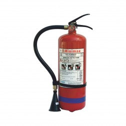Minimax BC Dry Powder Fire Extinguisher 6KG Gas Cartridge