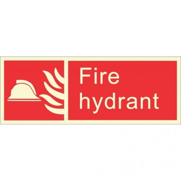 Infernocart Fire Hydrant Sign Board - Set of 5