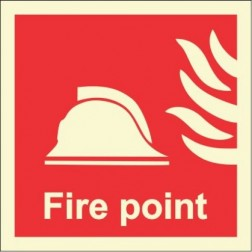 Infernocart Fire Point Sign Board - Set of 5