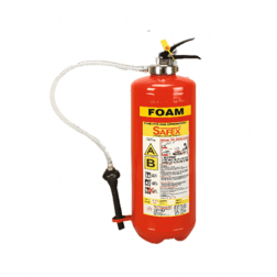 Safex Foam Stored Pressure Fire Extinguisher 9 Litre