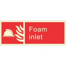 Infernocart Foam Inlet Sign Board - Set of 5