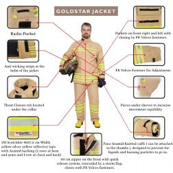 Ceasefire Goldstar Fire Proximity Suits