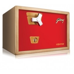 Godrej Premium Coffer V1 Red Mechanical Safe