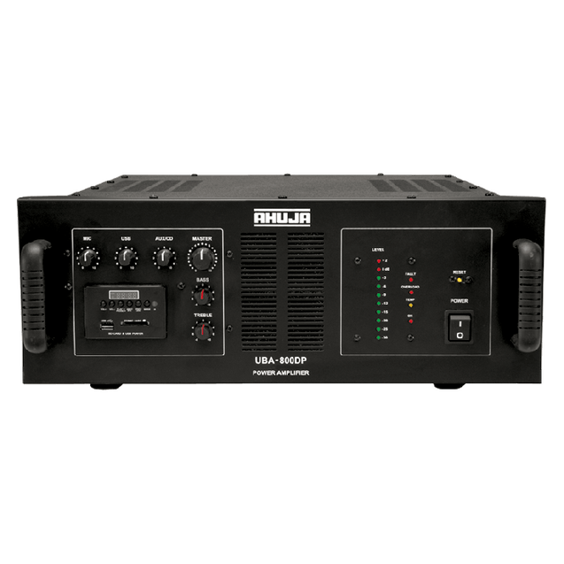 Ahuja PA Amplifier With Built-In Player UBA-800DP