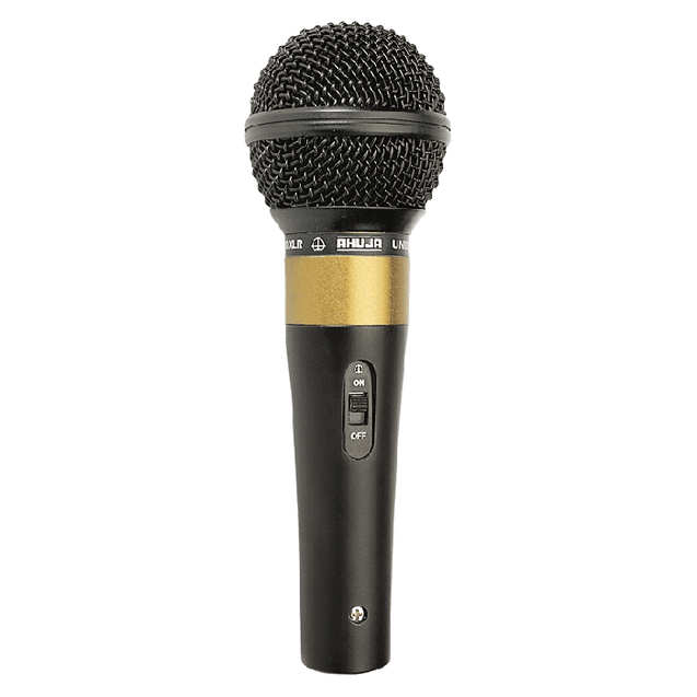 Ahuja Microphones Unidirectional Dynamic Stage Performance SHM-1000XLR