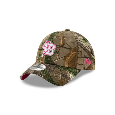Buffalo Bisons Ladies Real Tree Camo/Pink Adjustable Cap