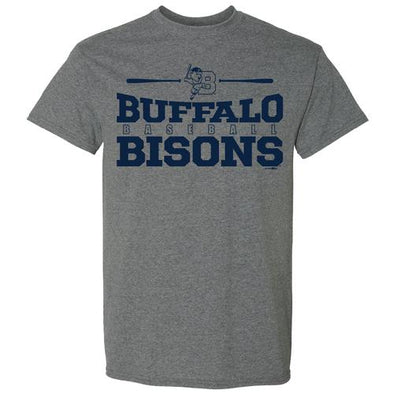 Buffalo Bisons Grey How Tee