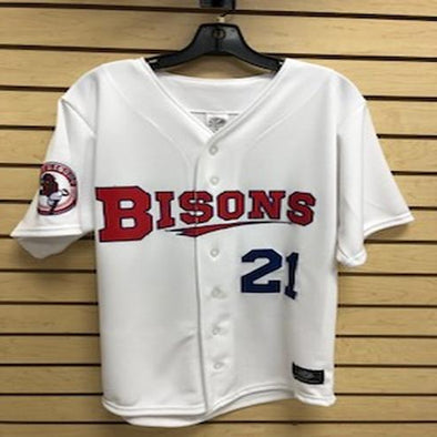 Buffalo Bisons Biggio Home Jersey