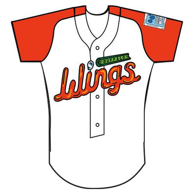 Buffalo Bisons Wings 2019 Blank Jersey