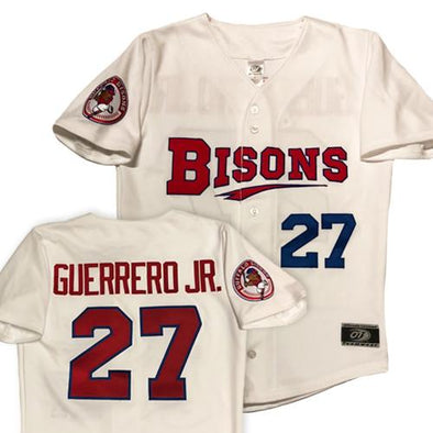 Buffalo Bisons Guerrero Jr. Home Jersey