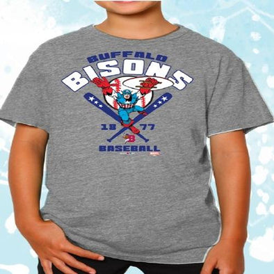 Buffalo Bisons Youth Captain America Tee
