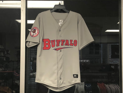 Buffalo Bisons Road Replica Jersey Blank