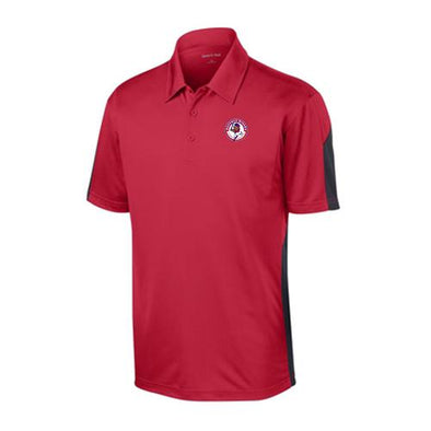 Buffalo Bisons Men's Red Colorblock Polo