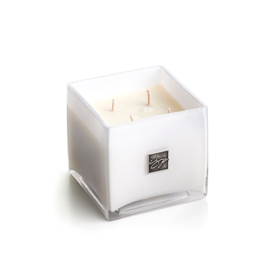 Big Daddy White Square Candle 32oz