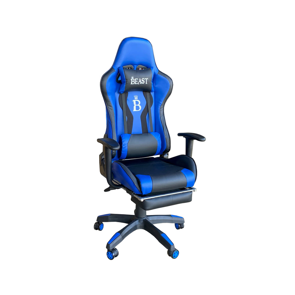 COALT RACING-STYLE GAMING ERGONOMIC CHAIR WITH FOOTREST
