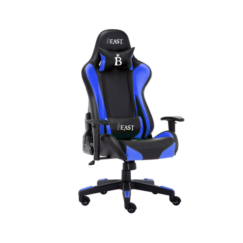 LEVIATHAN RACING GAMING CHAIR WITH ERGONOMIC LUMBAR SUPPORT