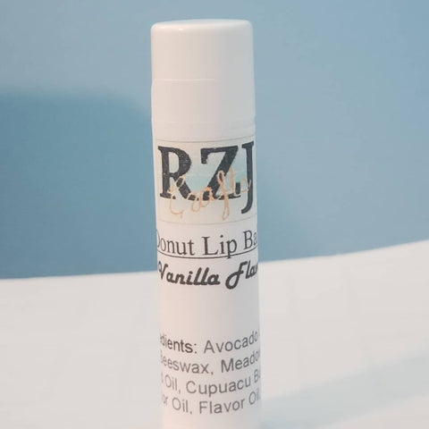 Vanilla lip balm tube