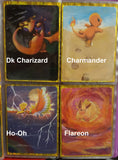 Painted Pokemon Cards