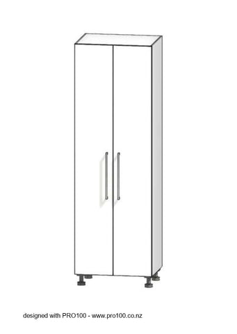 2 Door Pantry - 2100mm - Not Just Joinery