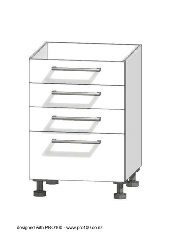 4 Drawer - Not Just Joinery