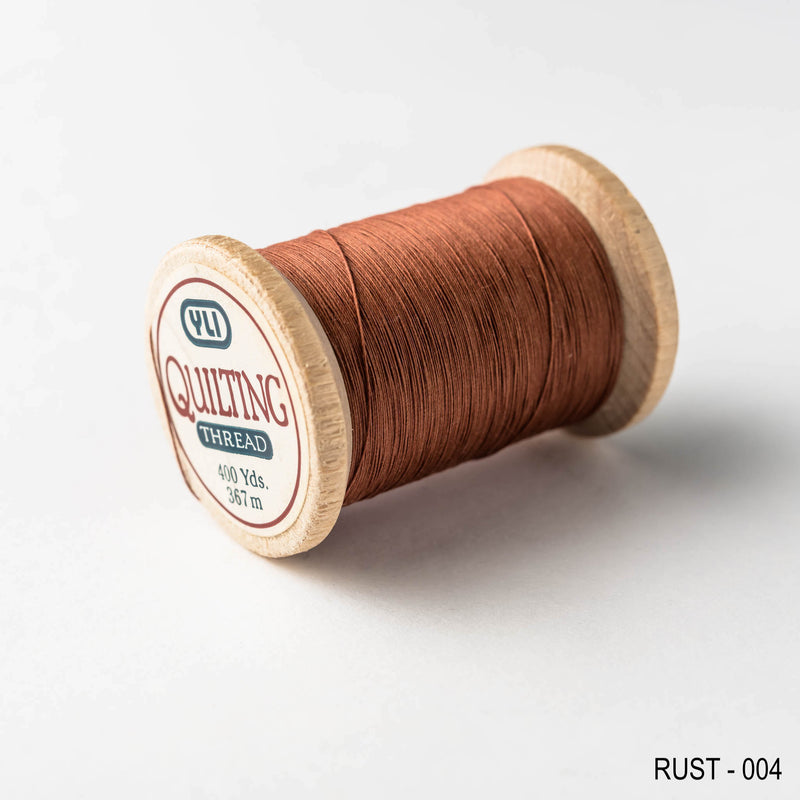 Quilting thread - brown shades
