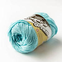 4-ply cotton yarn - robin's egg