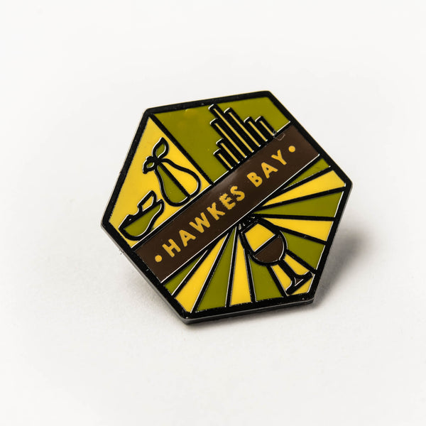 Enamel pin - Hawkes Bay