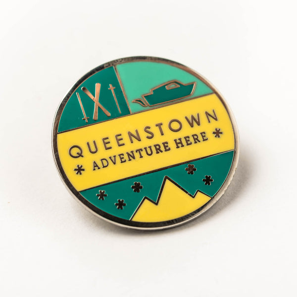 Enamel pin - Queenstown