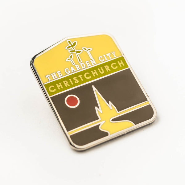 Enamel pin - Christchurch