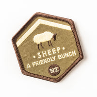 Woven patch - sheep