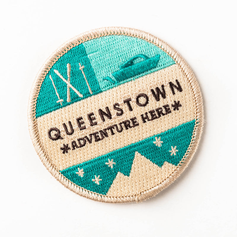 Woven patch - Queenstown