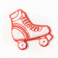 Woven patch - rollerskates