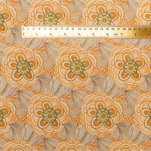 Beauty is You Floral - orange