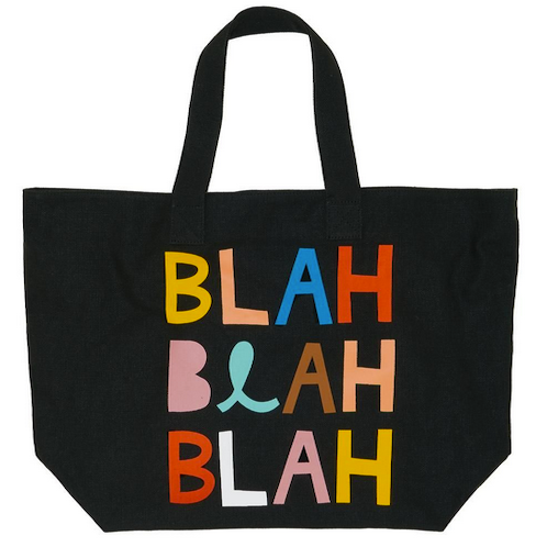 Carry bag - blah blah blah