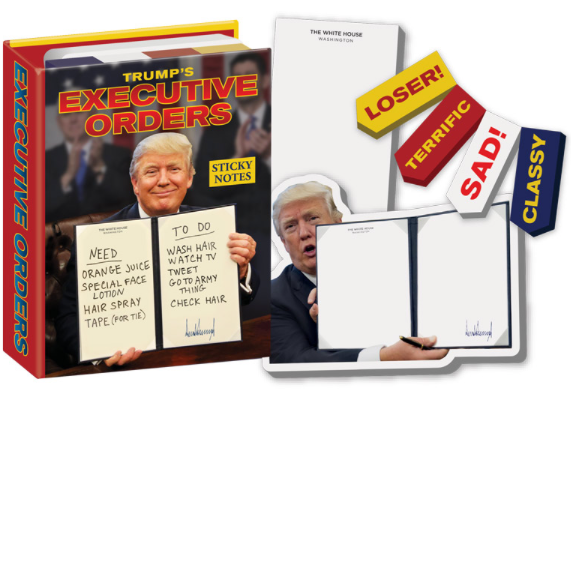 Sticky notes - Trump