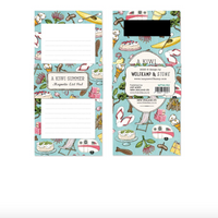 Magnetic note pad - kiwiana