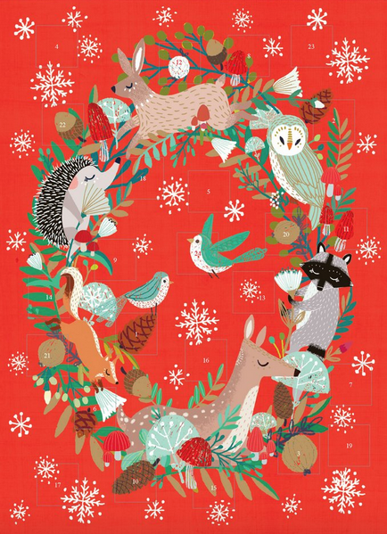 Advent calendar - forest friends