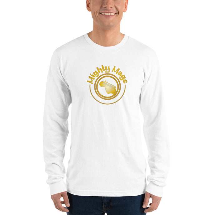 Mighty Mage Men's Long Sleeve T-shirt #1