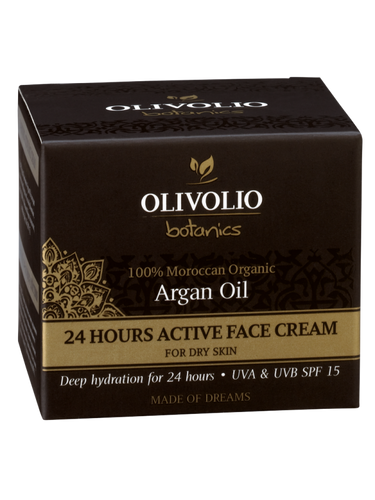 Olivolio Argan Oil 24 Hours Active Face Cream 50 ml