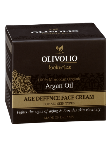 Olivolio Argan Oil Age Defence Face Cream 50 ml