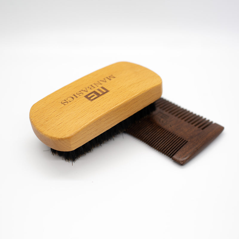 Beard Comb & Brush
