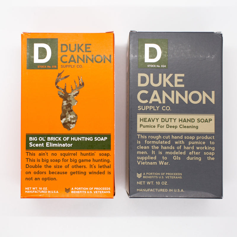 Duke Cannon Hunting & Fishing Soap Set