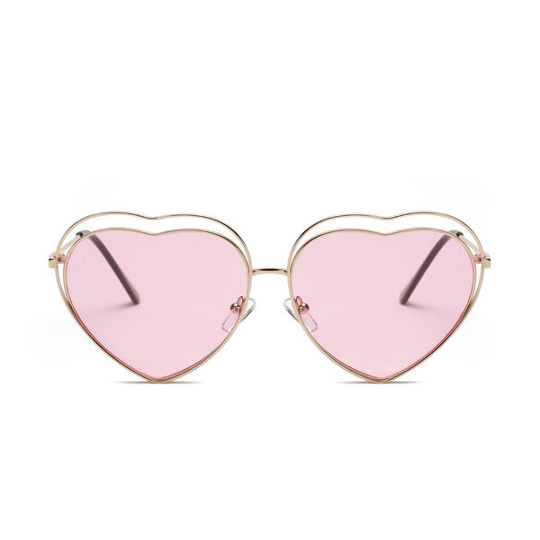 Women's Heart Fashion Sunglasses