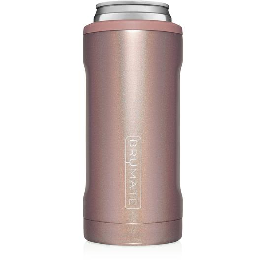 Rose Gold Glitter Slim Hopsulator by Brumate