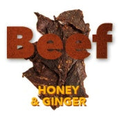 Beef jerky Ginger & honey