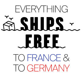 free shipping in france and germany