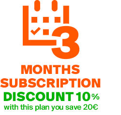 3 MONTHS SUBSCRIPTION PLAN