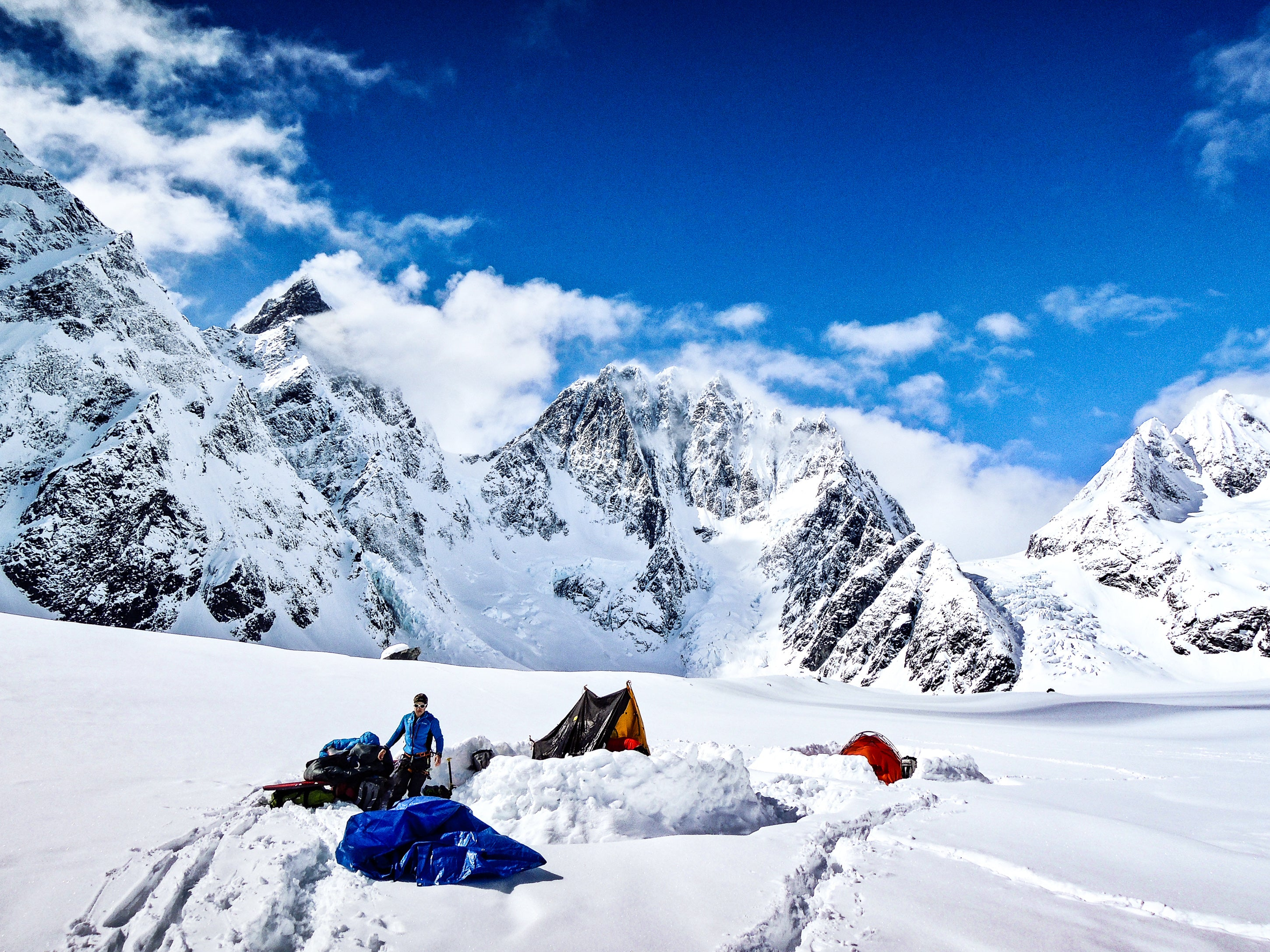 ENAM expedition Alaska ffme base camp Lyofood