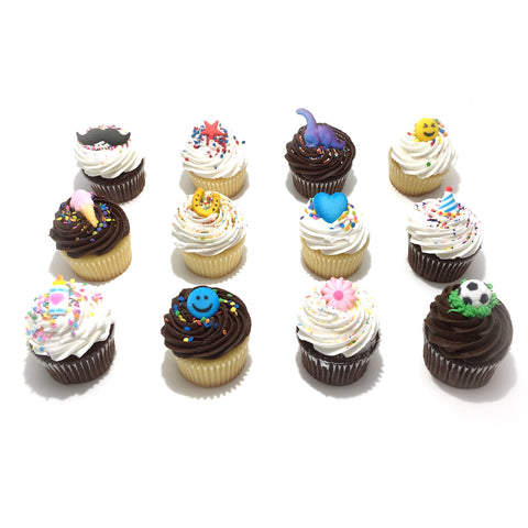 Decorated Cupcakes Dozen
